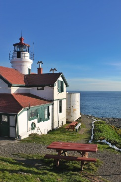 Battery Point Lighthouse. Photo by Orion Tippens