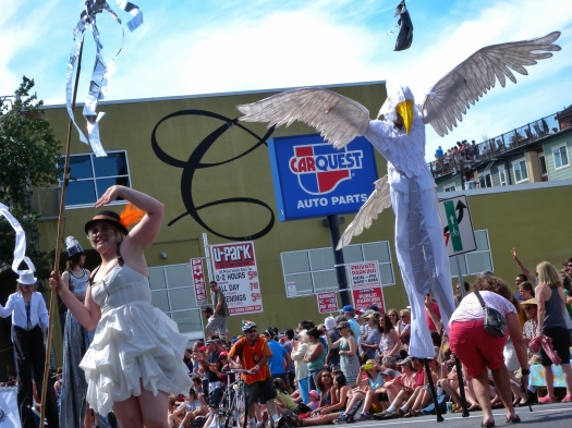 Fremont Summer Solstice Parade 2013