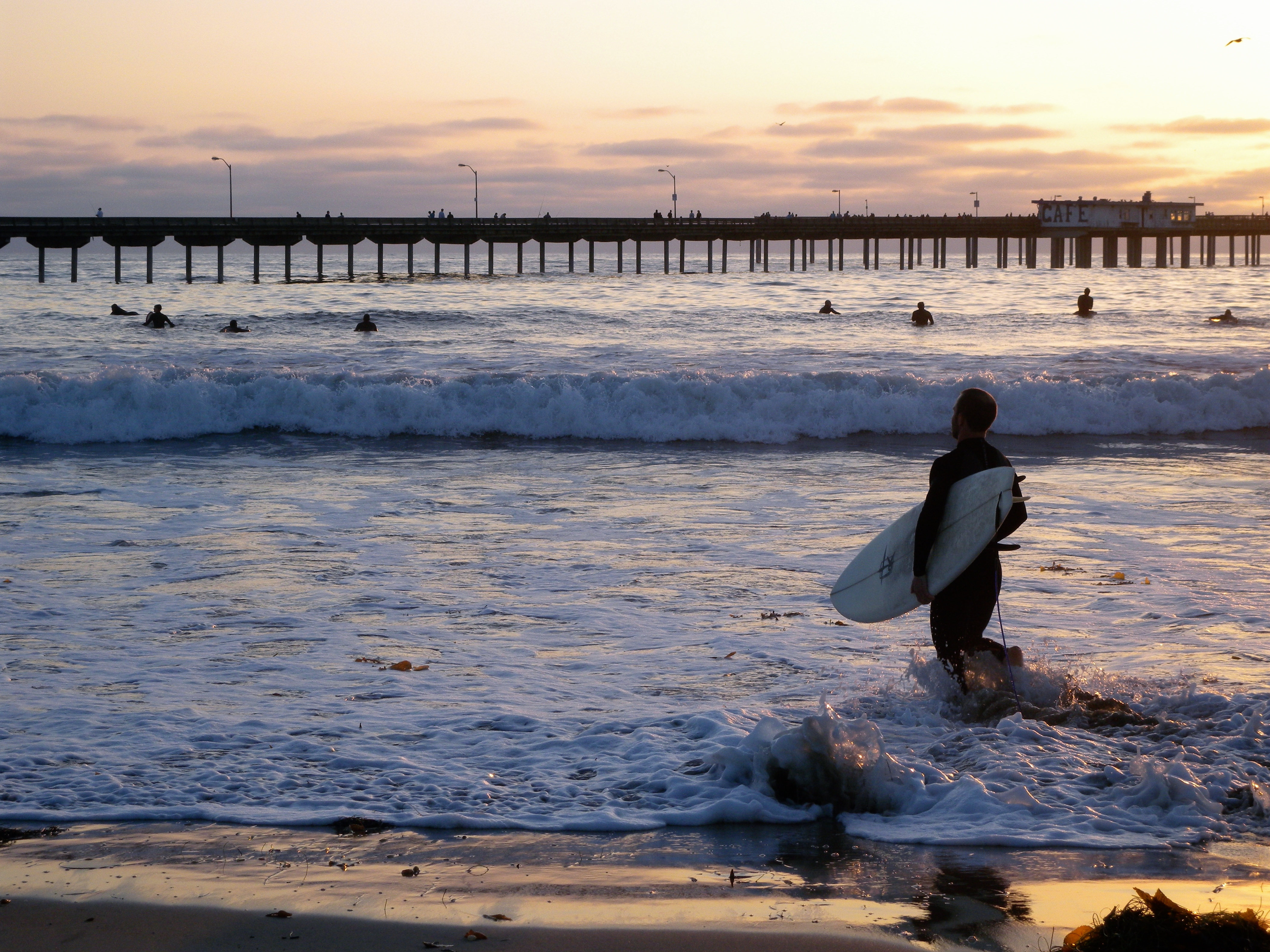 Image result for ocean beach san diego surfing